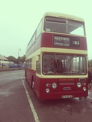 East Kent, Daimler Fleetline RFN953G, at Rye. (Man of Yorkshire) Tags: bus buses rye doubledecker daimler fleetline parkroyal eastkent rfn953g
