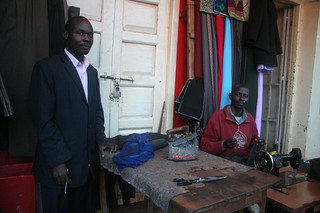 Clothes makers in Kisii