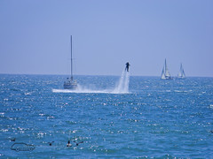 HydroJetPack (classic77) Tags: man water person flying jet pack hydro