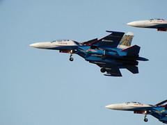 Russian Knights - Kecskemét 2013 (vegeta25) Tags: fuji formation airshow fujifilm magyar kecskemét magyarország su27 flanker russianknights repülés repülőnap myfuji s3200 oroszvitézek