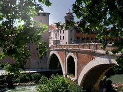 Tiber Island Bridge, Rome
