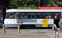 Sunny Antwerp (Amsterdam RAIL) Tags: belgique trolley belgi tram bn streetcar belgica tramway antwerpen strassenbahn tramvaj belgien electrico tranvia pcc delijn rooseveltplaats brugeoiseetnivelles