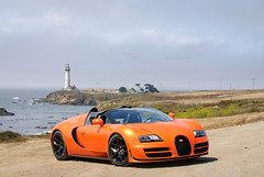 20130819_Buggati_Veyron_004 (petamini_pix) Tags: auto california lighthouse cars car sport coast nikon pacific exotic highway1 164 expensive luxury supercar pigeonpoint pescadero hwy1 sportscar veyron pigeonpointlighthouse buggati grandsport buggativeyron