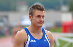 2013_Staffel-SM_BilderSam68 (samuel.mettler1) Tags: athletics aarau lars fehr 2013 4x100 staffelsm