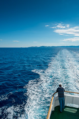 On the Ferry to Vis (gab3x Split www.ignphotography.com) Tags: travel sea travelling water ferry island moving transport croatia vis fujinon adriatic hrvatska otok jadrolinija petarhektorovic fujixe1