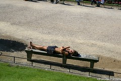 Sunbathing in Paris (Furcifer pardalis) Tags: street paris girl streetphotography parc sunbathing jardinduluxembourg sunbathinggirl