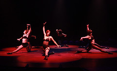The ensemble in Chicago produced by Music Circus at the Wells Fargo Pavilion August 20-29, 2013. Photo by Charr Crail.
