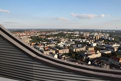 In der Ferne das Vlkerschlachtdenkmal (julia_HalleFotoFan) Tags: leipzig aussicht uniriese cityhochhaus flickrtreffen fernsicht panoramaturm