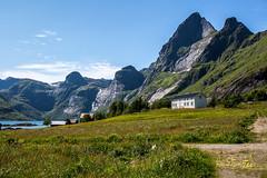 Lofoten (Kvervil) Tags: sea mountain norway canon eos fjord lofoten reine bunesstranda canoneos5dmarkiii eos5dmarkiii