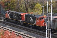 CN 394 (Michael Berry Railfan) Tags: cn quebec montreal ge generalelectric canadiannational gp382 gmd es44dc gevo gp382w cn2252 cn394 montrealsub cn4805