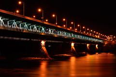 bridge_over_peace_river (I_see_rhinoceros_in_your_eyes) Tags: longexposure bridge night most warsaw wisa vistula noc warszwa dugaekspozycja