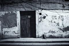 to be torn down (bryan-roos) Tags: china street door leica blackandwhite bw blackwhite monochrom  xiaonanmen shanghaiflickrmeetup flickr  leica24mmf28 bryanroos bryanroosimaging
