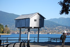 LightShed (Milhafre) Tags: canada art vancouver bc waterfront lightshed lizmagor