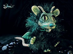 Rat - dragon (- kaori -) Tags: light rat doll dragon plush rats dollmaking dollmaker
