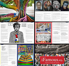 iFamous (Russia) - Printed News Article & Interview - Ben Heine Art (Ben Heine) Tags: inspiration news art public magazine photography newspaper artist belgium artgallery russia fairs drawing quote events famous journal fame creative culture exhibitions international human worldwide impact prints imagination series info press sales copyrights interview information biography journalism artworks arthistory publication citation concepts quotations copyrighted newsarticle analyses historyofart benheine ifamous printedpublication digitalcirclism pencilvscamera fleshandacrylic benheinebiography