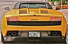 BULZEYE (simongavin83) Tags: road money car florida flash rear transport class transportation fancy vehicle parked behind posh powerful lamborghini sporty sportscar classy highpower lambo odc twinexhaust ourdailychallenge
