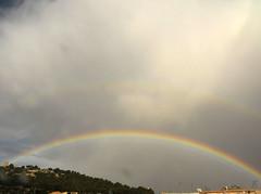 (antonella macis) Tags: sardegna sky castle clouds rainbow nuvole fuji cielo arcobaleno castello cagliari antonella sanmichele macis fujifinepixs1500 antonellamacis