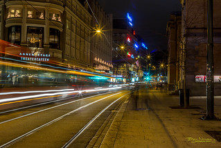 Oslo light trails IV
