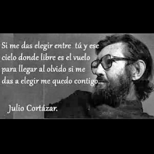 Si Me Das A Elegir Me Quedo Contigo Juliocortazar Rayuela
