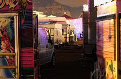 Behind the Carnival Walls (dllbowker) Tags: park lake mannequin switzerland cafe grafitti geneva skate manor mouette rhone planetree mouettes plainpalais stgervais quaideseujet