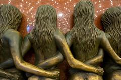 Girls on the Vegas Strip - #2 (Silver2Silicon) Tags: statue bronze zeiss riviera lasvegas nevada touit touit2812 sonya7r