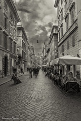 Walking... (Francesco8723) Tags: street rome roma canon photography san via l 17 40 fotografia f4 pietro palazzi viottolo 600d potd:country=it