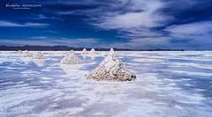 Salt mounds Drama (Bluebelier - Loves Juliet) Tags: desert bolivia salar sal altiplano sudamerica sudlipez uyuni salardeuyuni sonyalpha sonyalfa uyunisaltflat sal1855 sonyslta57 sonyalpha57