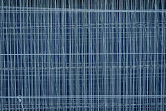 Fence #1 (twoeye) Tags: sony carl zeiss sonnar t fe 55mm f18 za sonycarlzeisssonnartfe55mmf18za a7r ilce7r grid texture bokeh dof blue grey steel galvanized fence