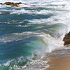 ~hear the ocean roar~ (uteart) Tags: wild beach mexico sand rocks turquoise shoreline shore waters puertovallarta rugged southshore hightide thewave oceanspray laola conchaschinas oceanmist utehagen uteart copyright©utehagen2014allrightsreserved