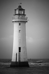 Perch Rock Lighthouse (foto.pro) Tags: new sea lighthouse rock warning coast brighton maritime perch nautical