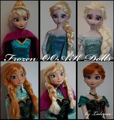 OOAK Frozen Doll (Lulemee) Tags: anna snow frozen doll ooak disney queen elsa coronation repaint eisknigin arendelle