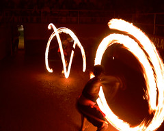 Fire and flames (hartvigs) Tags: longexposure india fire asia culture kerala flame periyar gf1 panasonicgf1 20mm17