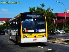 3 9901 Vip Brás (busManíaCo) Tags: bus millennium mercedesbenz busmaníaco caioinduscar nikond3100 vipbrás