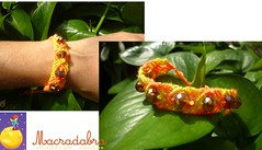 Pulsera #macrame #cristales (Macradabra) Tags: bracelet pulseras hechoamano macram manillas hippiechic frienshipbracelets macradabra