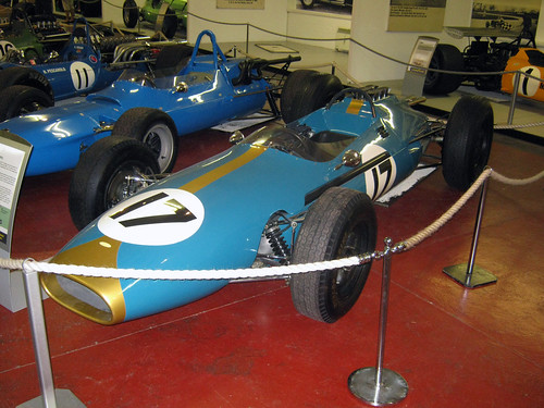 Jack Brabham's 1962 Brabham BT3,  Donington Grand Prix Collection 2011