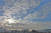 Clouds getting thinner (andrey.senov) Tags: blue sky clouds heaven fuji russia fujifilm x10 небо россия kostroma синий облака 10faves кострома fujifilmx10