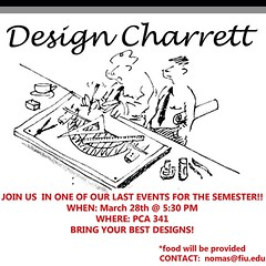 "Hey NOMAS members! Don't forget about the design charrett we will be having on the 28th for the National 2014 Competition. We are looking forward to see all the groups innovative designs! • <a style=""font-size:0.8em;"" href=""http://www.flickr.com/photos/109776203@N02/13197865655/"" target=""_blank"">View on Flickr</a>"