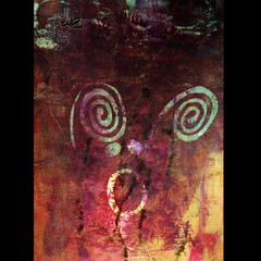 TheScream الصرخة (! Rahaf Mansoor ܉܈*܇܆܅) Tags: silk thescream لوحة scren الصرخة الشاشةالحريرية شبلونة منأعمالي
