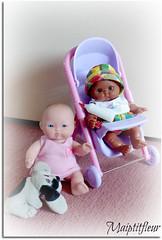 APPRENTIE MAMAN -01- Pauvres Mômes !.. (maiptitfleur) Tags: baby bébé puppe bambole muñeca bambola poussette poupon berenguer spanishdoll búpbê minipoupée poupéeespagnole