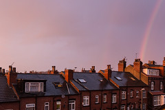 Chimney pots (paul indigo) Tags: houses windows chimney sky rain rainbow terrace victorianbuilding paulindigo