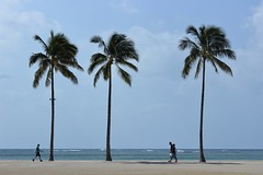3 plus 3 (Arista_Imaging) Tags: travel vacation beach hawaii waikiki hilton lagoon destination