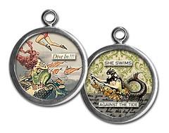 PU056- against the tide (ToadHollowNJ) Tags: jewelry charms pickupsticks redbanknj toadhollow photocharms toadhollownjcom