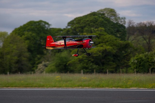 Phil flying his Hangar 9 Beast.