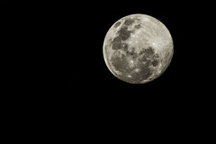 Full moon last night as seen from Johannesburg...