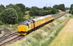 C-C-Colas Twactor Tuesday (5) (Neil Harvey 156) Tags: tractor railway growler colas networkrail class37 37175 37219 testtrain whitleybridge networkrailtesttrain 1q07 colasrail whitleybridgejunction