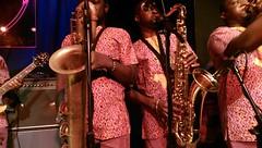 Horns (iGladsPhotoWorld) Tags: africa music musicians manchester concert african live stage performance band lagos artists nigeria performers femikuti manchesteruk nigerian htc afrobeat kuti femi bandonthewall