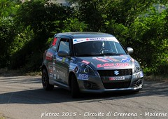 203-DSC_6428 - Suzuki Swift - R1B - Vallino Claudio-Desole Tiziana - Meteco Corse (pietroz) Tags: photo nikon foto photos rally fotos di pietro circuito cremona zoccola pietroz d300s