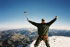 Huayna Potosí summit (6100m), La Paz, Bolivia