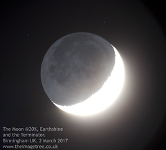 The Moon, Earthshine and the Terminator (Gez_1) Tags: celestron nexstar5se canon5dmkii adobephotoshopcs5 backyardeos