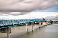 Bay Farm Bike and Pedestrian Bridge (Ron Rothbart) Tags: 10stopfilter alameda bayfarmisland california nd sanleandrobay bridge longexposure neutraldensityfilter water